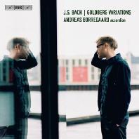 GOLDBERG VARIATIONS/ ANDREAS BORREGAARD [SACD HYBRID+CD] [바흐: 골드베르크 변주곡(아코디언 연주)   안드레아스 보아고]