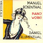 PIANO WORKS/ DAINIEL BUEMENTHAL