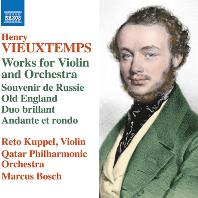 WORKS FOR VIOLIN AND ORCHESTRA/ RETO KUPPEL, MARCUS BOSCH [비외탕: 바이올린과 오케스트라를 위한 작품집 - 레토 쿠펠, 마르쿠스 보슈]