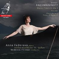 PIANO CONCERTO NO.1 & RHAPSODY ON A THEME OF PAGANINI/ ANNA FEDOROVA, MODESTAS PITRENAS [라흐마니노프: 피아노 협주곡 1번, 파가니니 주제에 의한 광시곡 - 안나 페도로바]