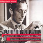 AT CARNEGIE HALL: SCHUMANN, CHOPIN, LISZT & BALAKIREV [THE PRIVATE COLLECTION]