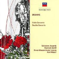 BRAHMS VIOLIN CONCERTO & DOUBLE CONCERTO/ HEINRICH SCHIFF, KURT MASUR [살바토레 아카르도: 브람스 바이올린 & 이중 협주곡]