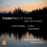 NACHT & TRAUME: LIEDER WITH ORCHESTRA/ LAURENCE EQUILBEY [슈베르트: 오케스트라 반주 가곡집 <밤과 꿈>] [디지팩]