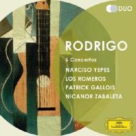 6 CONCERTOS/ NARCISO YEPES, GARCIA NAVARRO [DG DUO] [로드리고: 6개의 협주곡 - 나르시소 예페스]