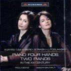 PIANO FOUR HANDS TWO PIANOS IN THE XX CENTURY/ PAOLA BIONDI/ DEBORA BRUNIALTI