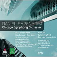 ORCHESTRAL WORKS/ CHICAGO SYMPHONY ORCHESTRA & DANIEL BARENBOIM