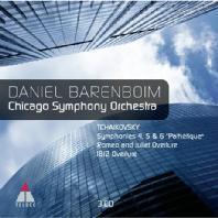 SYMPHONIES 4,5 & 6: PATHETIQUE/ CHICAGO SYMPHONY ORCHESTRA & DANIEL BARENBOIM