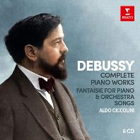 COMPLETE PIANO WORKS, FANTAISIE FOR PIANO & ORCHESTRA, SONGS/ ALDO CICCOLINI [드뷔시: 피아노 작품 전집 - 알도 치콜리니]