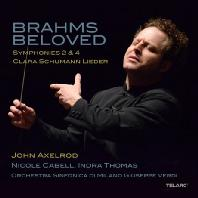 BRAHMS BELOVED/ INDRA THOMAS, NICOLE CABELL, JOHN AXELROD