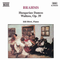 HUNGARIAN DANCES, WALTZES/ IDIL BIRET [브람스: 헝가리인 무곡, 왈츠 - 이딜 비렛]