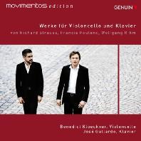WORKS FOR CELLO AND PIANO/ BENEDICT KLOECKNER, JOSE GALLARDO [MOVIMENTOS EDITION] [풀랑크, 림, R.슈트라우스: 첼로 소나타]