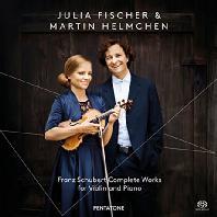 COMPLETE WORKS FOR VIOLIN AND PIANO/ JULIA FISCHER, MARTIN HELMCHEN [SACD HYBRID] [슈베르트: 바이올린과 피아노를 위한 작품전집]