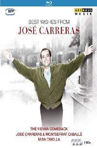 BEST WISHES FROM JOSE CARRERAS [호세 카레라스: 세 개의 실황 영상물]