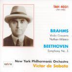 VIOLIN CONCERTO, SYMPHONY NO.5/ NATHAN MILSTEIN, VICTOR DE SABATA [재발매 한정반 31집]