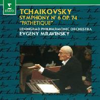 """SYMPHONY NO.6 """"PATHETIQUE""""/ EVGENY MRAVINSKY [차이코프스키: 교향곡 6번<비창> - 므라빈스키]"""