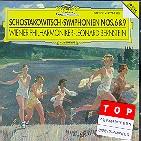 SYMPHONIES NOS.6 & 9/ LEONARD BERNSTEIN [쇼스타코비치: 교향곡 6, 9번 - 번스타인]