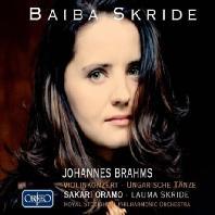 VIOLINKONZERT/ BAIBA SKRIDE, SAKARI ORAMO [브람스: 바이올린 협주곡 - 바이바 스크리데]