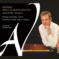 OEUVRES POUR LA MAIN GAUCHE VOL.8 [왼손을 위한 피아노 작품 8집: 야나체크, 코른골트 - 막심 제키니]