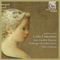 CELLO CONCERTOS/ JEAN-GUIHEN QUEYRAS, PETRA MULLEJANS [HM GOLD] [장-기앙 케라스: 하이든 & 몬 첼로 협주곡]