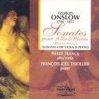 SONATAS FOR VIOLA & PIANO/ PIERRE FRANCK