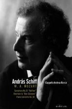 "SYMPHONY NO.35 IN D MAJOR ""HAFFNER"" & CHROMATIC FANTASIA/ ANDRAS SCHIFF [모차르트: 교향곡 35번, 피아노 협주곡 20번 & 바흐: 반음계 환상곡과 푸가 - 안드라스 쉬프]"