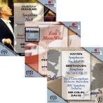 펜타톤 베스트음반 특별합본 세트: ROYAL CONCERTGEBOUW ORCHESTRA & LES PERCUSSIONS DE STRABOURG [SACD HYBRID]
