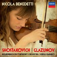 SHOSTAKOVICH & GLAZUNOV/ KIRILL KARABITS [쇼스타코비치 & 글라주노프: 바이올린 협주곡 - 니콜라 베네데티]