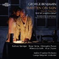 WRITTEN ON SKIN/ GEORGE BENJAMIN