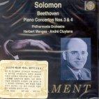 PIANO CONCERTOS NO.3,4/ SOLOMON