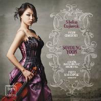 VIOLIN CONCERTOS/ SOYOUNG YOON(윤소영), PIOTR BORKOWSKI [시벨리우스 & 차이코프스키: 바이올린 협주곡]
