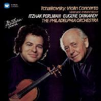 TCHAIKOVSKY: VIOLIN CONCERTO & SERENADE MELANCOLIQUE/ EUGENE ORMANDY [펄만 19집 - 차이코프스키: 바이올린 협주곡, 우울한 세레나데]