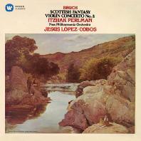 BRUCH: SCOTTISH FANTASY & VIOLIN CONCERTO NO.2/ JESUS LOPEZ-COBOS [펄만 14집 - 브루흐: 스코틀랜드 환상곡, 바이올린 협주곡 2번]