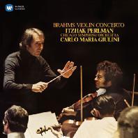 BRAHMS: VIOLIN CONCERTO/ CARLO MARIA GIULINI [펄만 15집 - 브람스: 바이올린 협주곡]