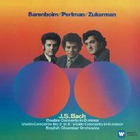 BACH: VIOLIN CONCERTOS/ DANIEL BARENBOIM, PINCHAS ZUKERMAN [펄만 2집 - 바흐: 바이올린 & 이중 협주곡]