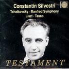 MANFRED SYMPHONY/ TASSO/ CONSTANTIN SILVERSTRI
