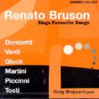 FAVOURITE SONGS BY DONIZETTI, VERDI, MARTINI