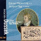DUETS FOR HARP AND PIANOFORTE/ EDWARD WITSENBURG & JACQUES OGG