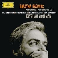 PIANO SONATA NO.2 & QUINTETS NOS.1,2/ KRYSTIAN ZIMERMAN [바체비치: 피아노 소나타 & 피아노 오중주 - 크리스티안 지메르만]
