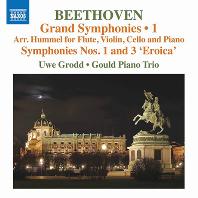 GRAND SYMPHONIES VOL.1 - NOS.1 & 3/ GOULD PIANO TRIO, UWE GRODD [베토벤: 교향곡 1 & 3번(훔멜 편곡 실내악 버전) | 우베 그로트, 굴드 피아노 트리오]