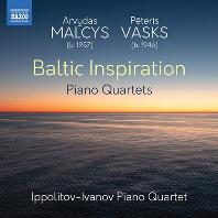 BALTIC INSPIRATION/ IPPOLITOV-IVANOV PIANO QUARTET [말키스 & 바스크스: 발트의 영감(발트 지역 작곡가들의 피아노 사중주 작품집) | 이폴리토프-이바토프 피아노 사중주단]