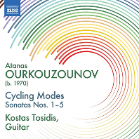 CYCLING MODES: SONATAS NOS.1-5/ KOSTAS TOSIDIS [오르쿠주노프: 기타 소나타 작품집 - 코타스 토시디스]