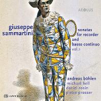 SONATAS FOR RECORDER & BASSO CONTINUO VOL.1/ ANDREAS BOHLEN [SACD HYBRID] [삼마르티니: 리코더 소나타 1집 - 안드레아스 뵈흘렌]