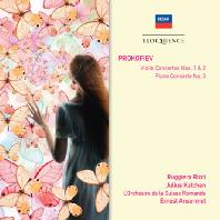 VIOLIN & PIANO CONCERTOS/ RUGGIERO RICCI, JULIUS KATCHEN, ERNEST ANSERMET [프로코피에프: 바이올린 협주곡]