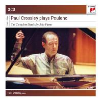 PLAYS POULENC: THE COMPLETE MUSIC FOR SOLO PIANO [SONY MASTERS] [폴 크로슬리가 연주하는 풀랑 피아노 작품 전집]
