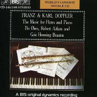 THE MUSIC FOR FLUTES AND PIANO/ PER OIEN, ROBERT AITKEN, GEIR HENNING BRAATEN [프란츠 & 칼 도플러: 플루트 음악 - 페르 외이엔, 로버트 에잇켄]
