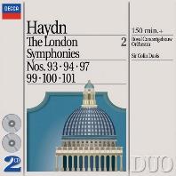 THE LONDON SYMPHONIES VOL.2/ COLIN DAVIS [DECCA DUO] [하이든: 교향곡 2집 - 콘서트헤보우 오케스트라, 콜린 데이비스]