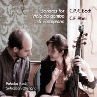 SONATAS FOR VIOLA DA GAMBA & FORTEPIANO/ REBEKA RUSO, SEBASTIAN WIENAND