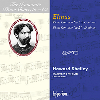 PIANO CONCERTO NOS.1, 2/ HOWARD SHELLEY [낭만주의 피아노 협주곡 시리즈 82: 스테판 엘마스 - 하워드 셸리]