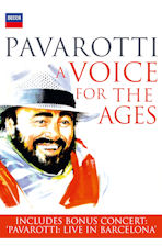 A VOICE FOR THE AGES [파바로티: 바르셀로나 콘서트 실황+다큐멘터리]