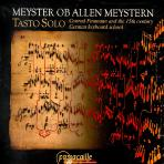 MEYSTER OB ALLEN MEYSTERN/ TASTO SOLO [14,15세기 건반음악]